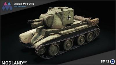 Mirukii's BT-42 Remodel (BT-7 Artillery Replacement) [1.5.1.0], 1 photo